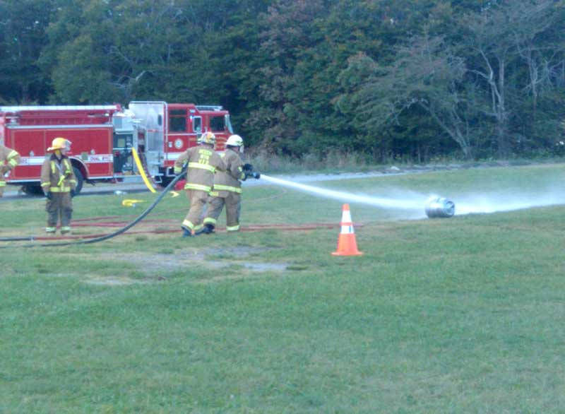 Beech Mtn VFD FIre Training